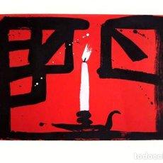 Arte: GRABADO ORIGINAL DE AGUSTÍ PUIG, FIRMADO Y NUMERADO. Lote 72917393