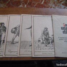 Arte: 4 GRABADOS - LOS ANTIGUOS OFICIOS - SELECCIONES DEL READERS DIGEST - MADRID. Lote 72801983