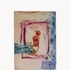 Arte: GRABADO ORIGINAL DE GEMMA MOLERA, FIRMADO Y NUMERADO. Lote 72926887
