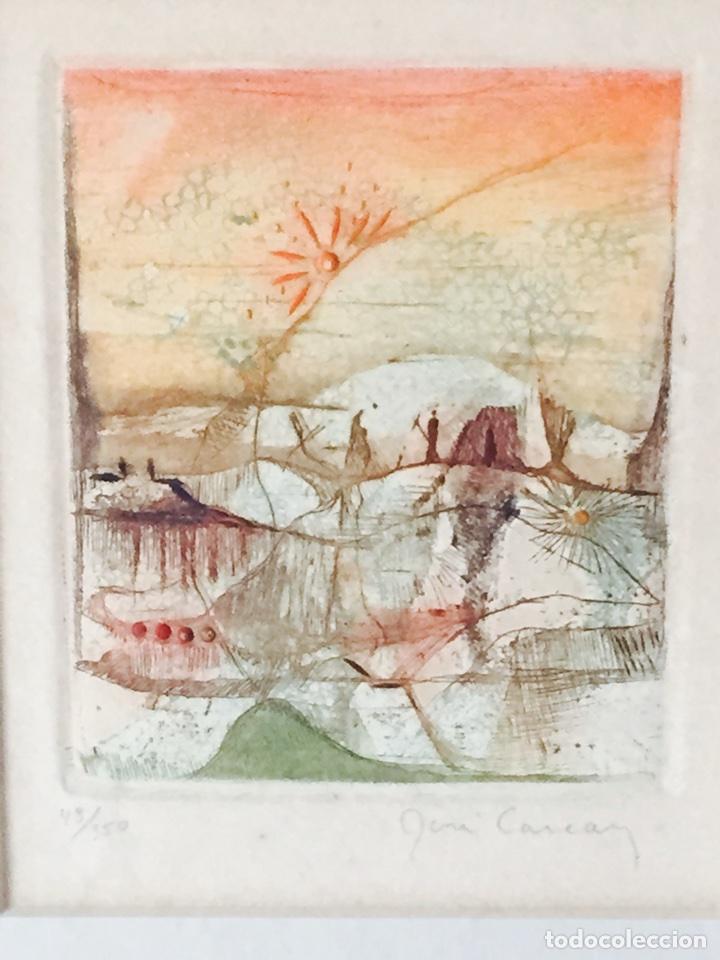 Arte: Bonito grabado antiguo firmado y numerado - Foto 2 - 73193203