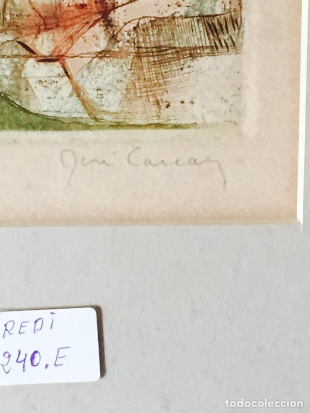 Arte: Bonito grabado antiguo firmado y numerado - Foto 4 - 73193203
