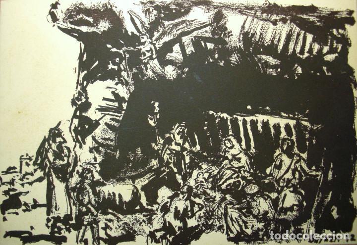 SIMÓ BUSOM GRABADO 27 X 18,5 CM. FIRMADO Y FECHADO 1972 (Arte - Grabados - Contemporáneos siglo XX)