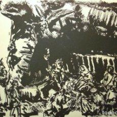 Arte: SIMÓ BUSOM GRABADO 27 X 18,5 CM. FIRMADO Y FECHADO 1972. Lote 73495611