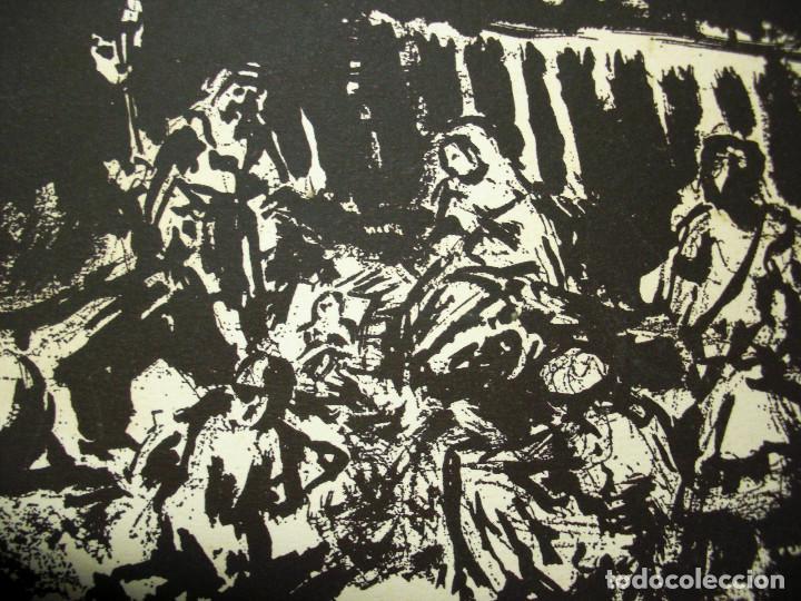 Arte: SIMÓ BUSOM grabado 27 x 18,5 cm. Firmado y fechado 1972 - Foto 2 - 73495611