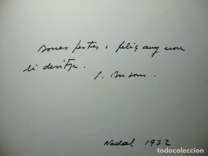 Arte: SIMÓ BUSOM grabado 27 x 18,5 cm. Firmado y fechado 1972 - Foto 4 - 73495611