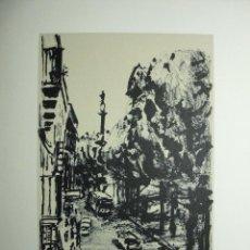 Arte: SIMÓ BUSOM GRABADO 24 X 18,5 CM. EJEMPLAR 18/62. FIRMADO Y FECHADO 1982. Lote 73495835