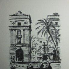 Arte: SIMÓ BUSOM GRABADO 24 X 18,5 CM. FIRMADO Y FECHADO 1981. Lote 73495907