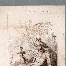Arte: PERSIA : PAJE GEORGIANO - GRABADO VERNIER CHAILLOT LEMAITRE S. XIX. Lote 73527751