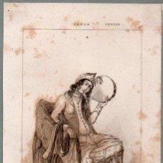 Arte: PERSIA : BAILARINA PERSA - GRABADO VERNIER CHAILLOT LEMAITRE S. XIX. Lote 73527799