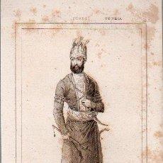 Arte: PERSIA : NADIR SCHAH - GRABADO VERNIER CHAILLOT LEMAITRE S. XIX. Lote 73528279