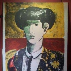 Arte: GRABADO TORERO GRAN TAMAÑO 50 X 70----SERIE 68/250 ...FIRMADO A IDENTIFICAR. Lote 73533191