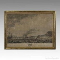 Arte: SERIE PUERTOS DE FRANCIA (ROCHEFORT, 1767) - VERNET, JOSEPH (1714-1789). Lote 74674902