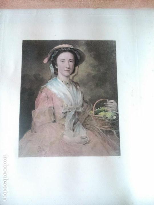Arte: Lote cinco grabados de mujeres - Foto 2 - 71849871