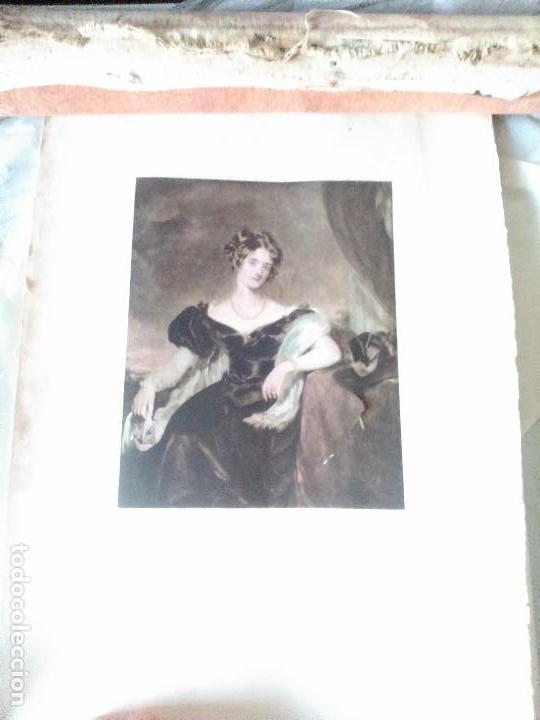 Arte: Lote cinco grabados de mujeres - Foto 8 - 71849871