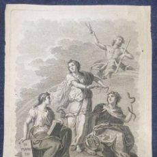 Arte: GRABADO DE L. PLANES Y M.PELEGER. FF. S. XVIII. Lote 75231047