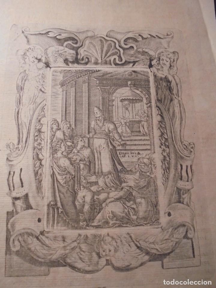 ANTIGUO GRABADO BARROCO , , GRABADO POR LAS DOS CARAS . ORIGINAL DE EPOCA 33X19,5 CM. (Arte - Grabados - Antiguos hasta el siglo XVIII)