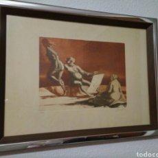 Arte: GRABADO ANDRÉS BARAJAS. Lote 75797829
