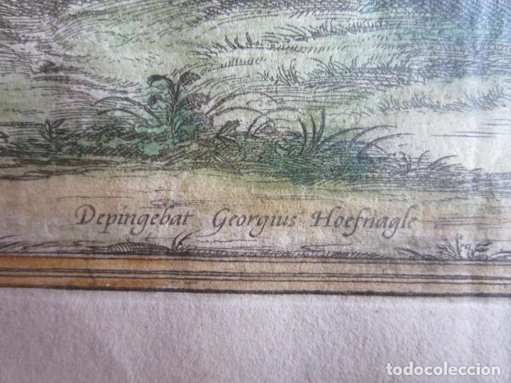 Arte: 1564-ALHAMA GRANADA. GRABADO ORIGINAL DE BRAUN-HOGENBERG. MUY GRANDE - Foto 7 - 75806399