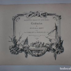 Arte: GRABADOS DE DOMINIQUE SERRES SOBRE LA TOMA DE LA HABANA EN 1762. BIBLIOTECA NACIONAL JOSE MARTI.. Lote 76056167