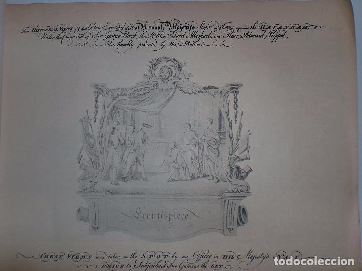 Arte: GRABADOS DE DOMINIQUE SERRES SOBRE LA TOMA DE LA HABANA EN 1762. BIBLIOTECA NACIONAL JOSE MARTI. - Foto 5 - 76056167