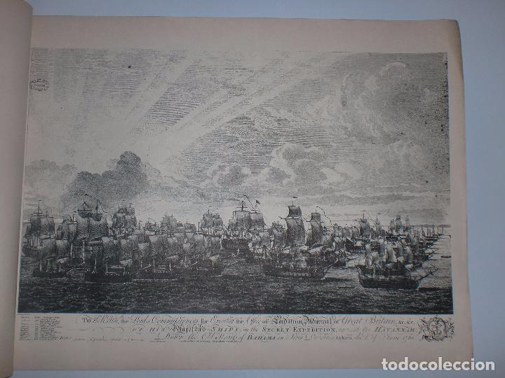 Arte: GRABADOS DE DOMINIQUE SERRES SOBRE LA TOMA DE LA HABANA EN 1762. BIBLIOTECA NACIONAL JOSE MARTI. - Foto 6 - 76056167
