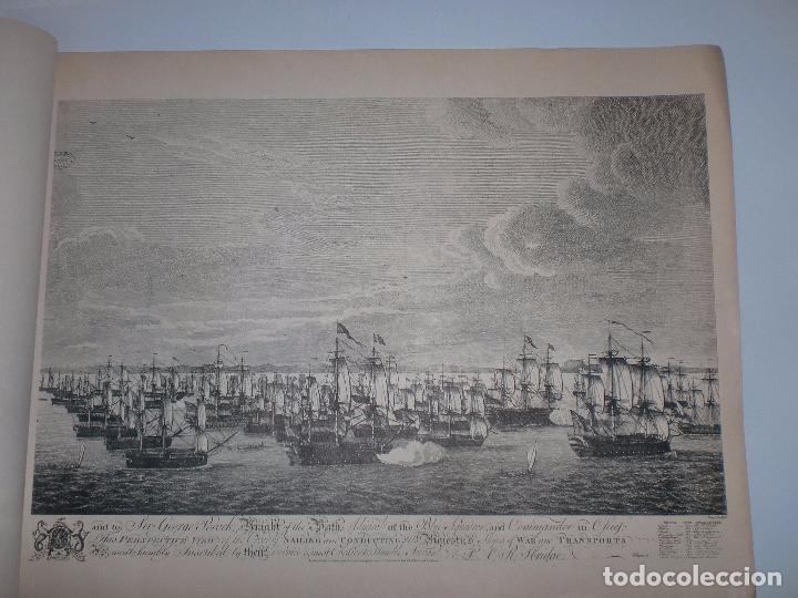 Arte: GRABADOS DE DOMINIQUE SERRES SOBRE LA TOMA DE LA HABANA EN 1762. BIBLIOTECA NACIONAL JOSE MARTI. - Foto 7 - 76056167