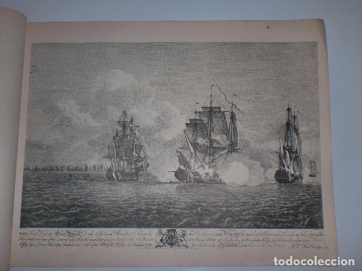 Arte: GRABADOS DE DOMINIQUE SERRES SOBRE LA TOMA DE LA HABANA EN 1762. BIBLIOTECA NACIONAL JOSE MARTI. - Foto 8 - 76056167