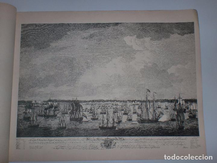 Arte: GRABADOS DE DOMINIQUE SERRES SOBRE LA TOMA DE LA HABANA EN 1762. BIBLIOTECA NACIONAL JOSE MARTI. - Foto 9 - 76056167