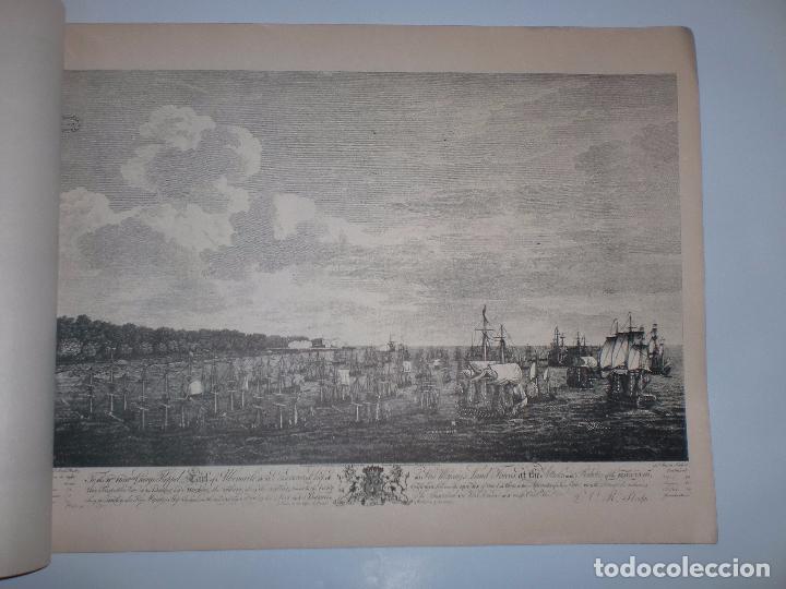 Arte: GRABADOS DE DOMINIQUE SERRES SOBRE LA TOMA DE LA HABANA EN 1762. BIBLIOTECA NACIONAL JOSE MARTI. - Foto 10 - 76056167