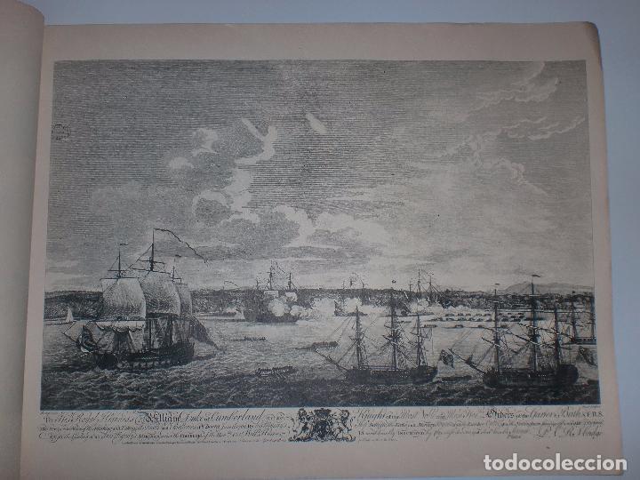 Arte: GRABADOS DE DOMINIQUE SERRES SOBRE LA TOMA DE LA HABANA EN 1762. BIBLIOTECA NACIONAL JOSE MARTI. - Foto 11 - 76056167
