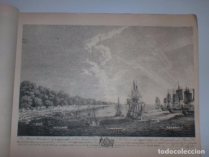 Arte: GRABADOS DE DOMINIQUE SERRES SOBRE LA TOMA DE LA HABANA EN 1762. BIBLIOTECA NACIONAL JOSE MARTI. - Foto 12 - 76056167