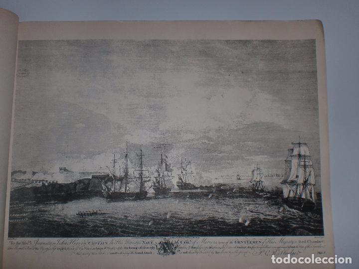 Arte: GRABADOS DE DOMINIQUE SERRES SOBRE LA TOMA DE LA HABANA EN 1762. BIBLIOTECA NACIONAL JOSE MARTI. - Foto 13 - 76056167