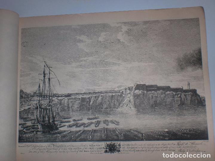 Arte: GRABADOS DE DOMINIQUE SERRES SOBRE LA TOMA DE LA HABANA EN 1762. BIBLIOTECA NACIONAL JOSE MARTI. - Foto 14 - 76056167