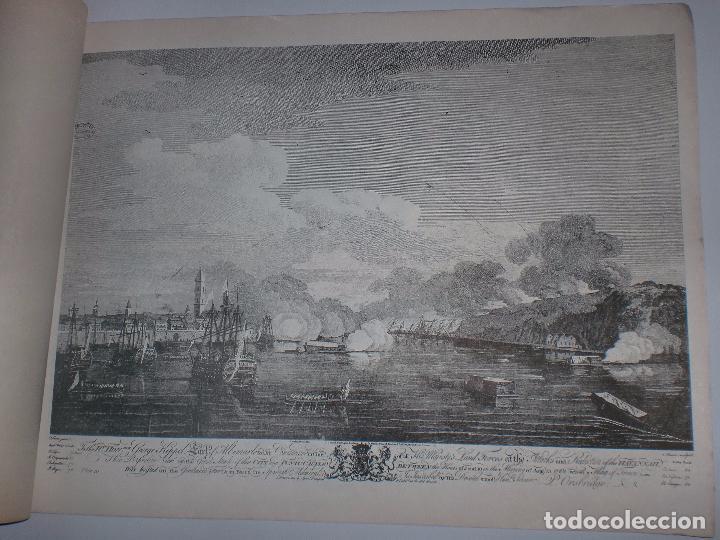 Arte: GRABADOS DE DOMINIQUE SERRES SOBRE LA TOMA DE LA HABANA EN 1762. BIBLIOTECA NACIONAL JOSE MARTI. - Foto 15 - 76056167