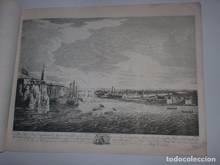 Arte: GRABADOS DE DOMINIQUE SERRES SOBRE LA TOMA DE LA HABANA EN 1762. BIBLIOTECA NACIONAL JOSE MARTI. - Foto 16 - 76056167