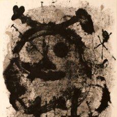 Arte: JOAN MIRÓ. GRABADO ORIGINAL FIRMADO Y NUMERADO.QUELQUES FLEURS POUR DES AMIS 1964. Lote 76707759