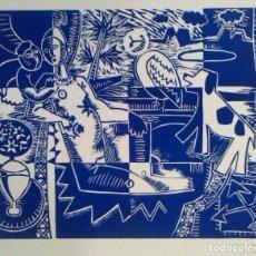 Arte: ANNA GOLOBART. PINTORA CONTEMPORÁNEA NACIDA EN BARCELONA. EN 1984, FOMÓ PARTE DEL GRUP D'ANTE. Lote 77446925