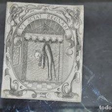 Arte: CRISTOFORO BIANCHI GRABADO IDEA DE UN PRINCIPE POLITICO CRISTIANO SAAVEDRA FAJARDO 1649. Lote 78036377