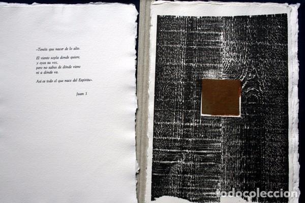 Arte: NACER - GRABADOS de JOSEP ASUNCION- GEMMA GUASCH - RAMON MASSANA - XAVIER SANCHEZ - PILAR VALERIANO - Foto 2 - 78117749