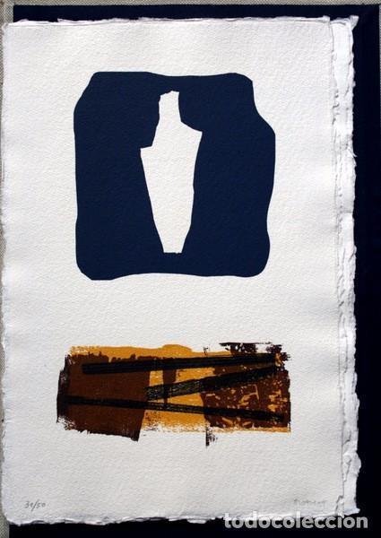 Arte: NACER - GRABADOS de JOSEP ASUNCION- GEMMA GUASCH - RAMON MASSANA - XAVIER SANCHEZ - PILAR VALERIANO - Foto 4 - 78117749