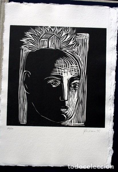 Arte: NACER - GRABADOS de JOSEP ASUNCION- GEMMA GUASCH - RAMON MASSANA - XAVIER SANCHEZ - PILAR VALERIANO - Foto 5 - 78117749