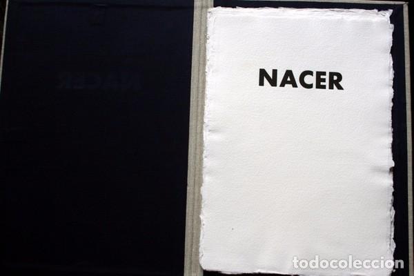 Arte: NACER - GRABADOS de JOSEP ASUNCION- GEMMA GUASCH - RAMON MASSANA - XAVIER SANCHEZ - PILAR VALERIANO - Foto 6 - 78117749