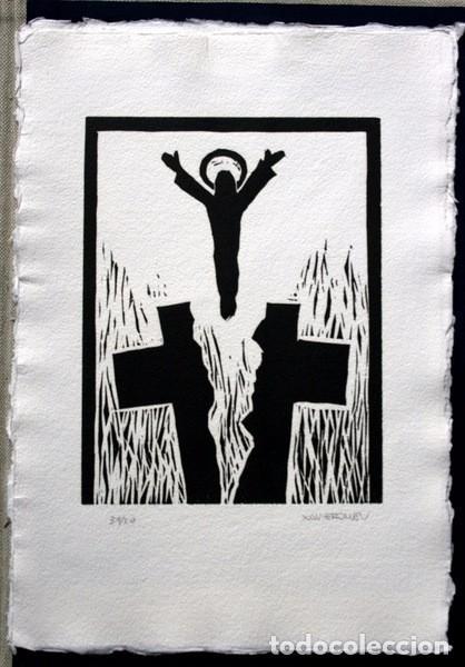 Arte: NACER - GRABADOS de JOSEP ASUNCION- GEMMA GUASCH - RAMON MASSANA - XAVIER SANCHEZ - PILAR VALERIANO - Foto 7 - 78117749