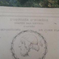 Arte: CUADERNO GRABADOS LA ODISEA (33) S.XIX. Lote 78307401