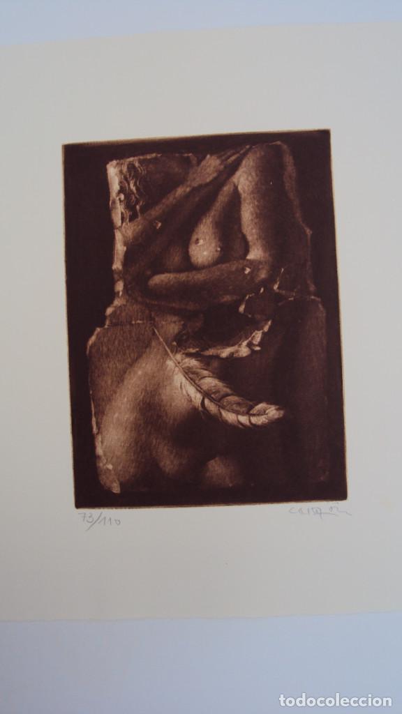 GRABADO DE JOAN CASTEJON, FIRMADO Y NUMERADO AÑO 1981 (Arte - Grabados - Contemporáneos siglo XX)