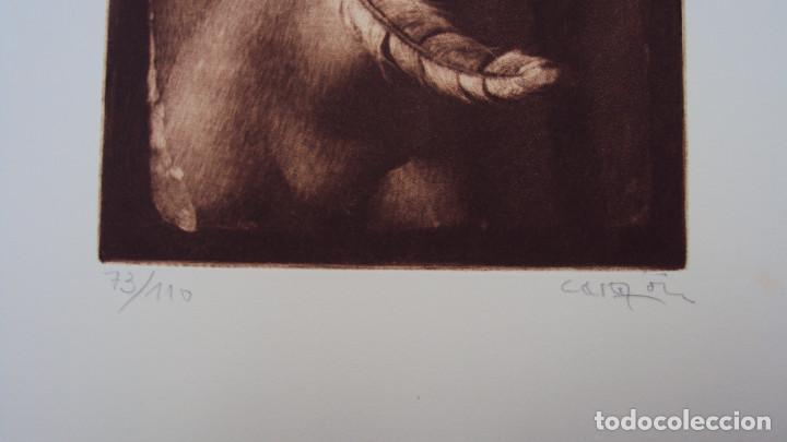 Arte: GRABADO DE JOAN CASTEJON, FIRMADO Y NUMERADO AÑO 1981 - Foto 2 - 119300858