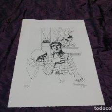 Arte: FRANCISCO HERNANDEZ - GRABADO - 54X38 - FIRMADO Y NUMERADO. Lote 79590861