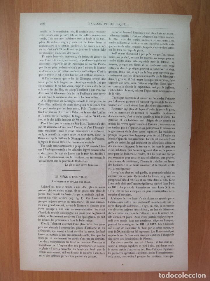 VISTA DE LA CIUDAD DE PANAMÁ (AMÉRICA CENTRAL), 1882. A DE BAR (Arte - Grabados - Modernos siglo XIX)