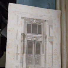 Arte: DIFICIL GRABADO ARQUITECTURA NAPOLEON III S. XIX-MANSIONES DE PARIS POR CESAR DALY-MAISON A LOYER . Lote 80192377