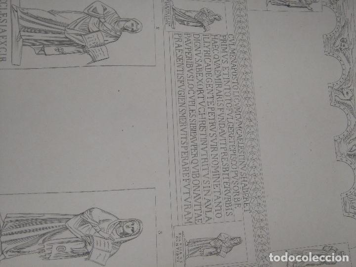 Arte: GRABADO DE PLANCHA SIGLO XIX MUSAICI - MEDIDAS 47 X 35 CM - Foto 2 - 80196813